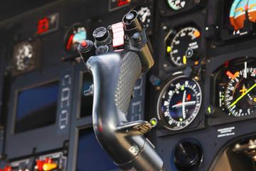 Moderne Cockpit-Instrumente