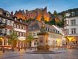 Leinwanddruck Bild - Heidelberg Kornmarkt