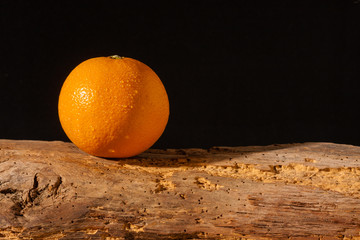 Orange auf dem Bauernhof