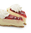 Cherry And Strawberry Cheesecake