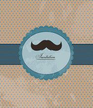invitation de la moustache