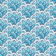 White-blue-gray seamless pattern