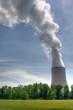 Cheminée de centrale nucléaire