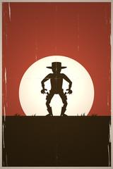 cowboy western duell