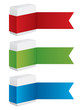 vector gift box banners