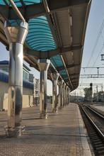 plate-forme de chemin de fer