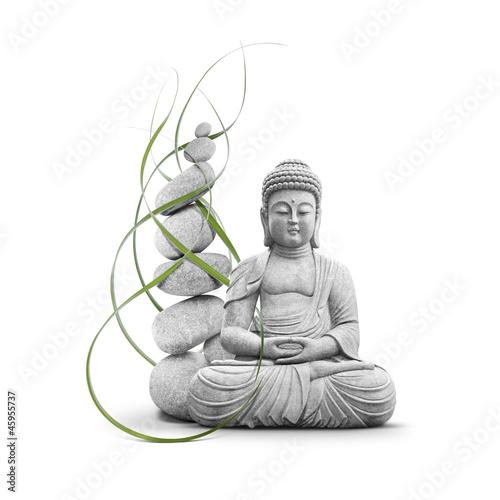 Papiers peints Statue Bouddha et Bien-être