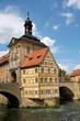 Rottmeisterhaus und Rathausturm Bamberg