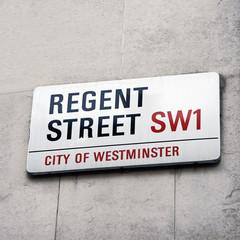 London Street Sign - Regent Street