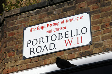London Street Sign - Portobello Road