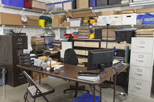 Messy Back Office
