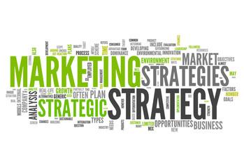 "Word Cloud ""Marketing Strategy"""