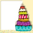 Birthday Cake - Celebration Background