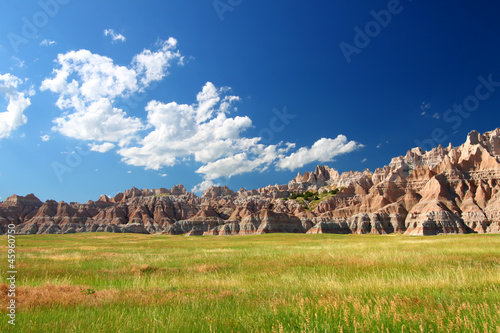 Badlands National Park Prairie