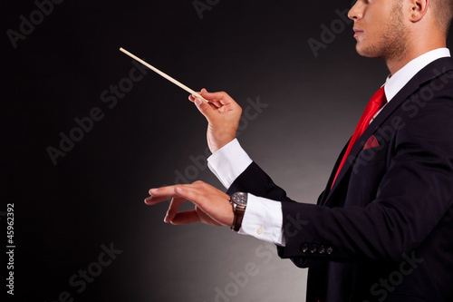 conductor business man