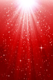 Red, bright xmas background