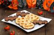 Biscotti di halloween - halloween cookies