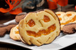 Biscotti di halloween, close-up, selective focus