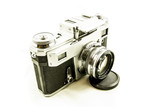 Stary apart fotograficzny/Old camera