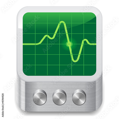 Icon for oscilloscope