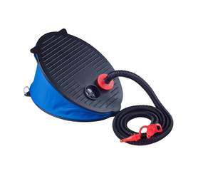 Air pump foot type for air bed or bicycle