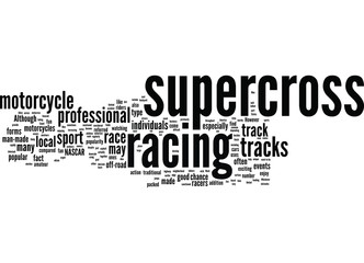 What is Supercross Motorcycle Racing