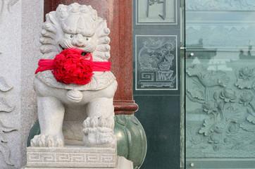 Chinese Shrine lion.