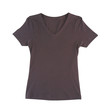 Nice dark blank brown T shirt just  putting your texts words or