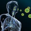 Grüne Viren befallen den Atemwegstrakt II