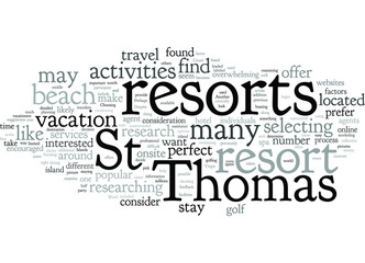 What to Consider When Selecting a St Thomas Resort