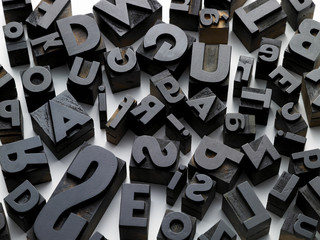 typefaces in composition