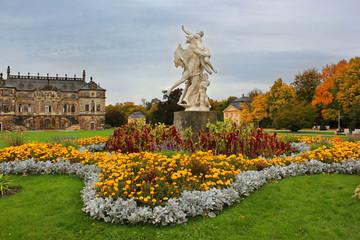 Herbstlicher Großer Garten