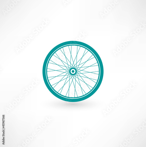 Bicycle Wheel Symbol