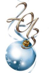 Boule bleue 2013