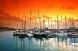 Fototapeta Śródziemnego - Przystań - Port