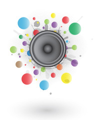 Splash Color Speaker