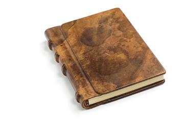 kostbares Buch mit edlem Ledereinband
