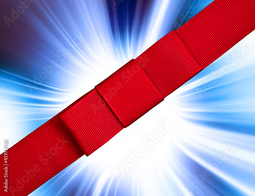 abstract ribbon