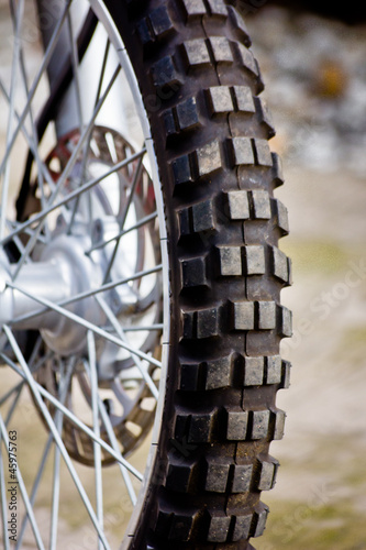 motorcycle wheel © Marco Govel