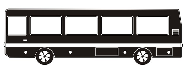 bus black