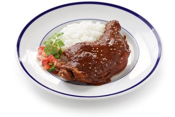 chicken mole, mexican cuisine