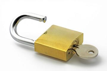 bügelschloss mit schlüssel