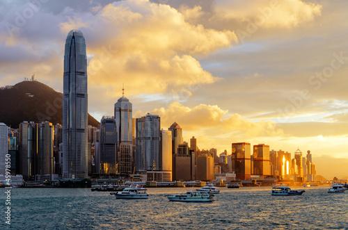 Deurstickers Hong-Kong Hong Kong