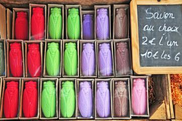 Artigianato provenzale, saponi e saponette