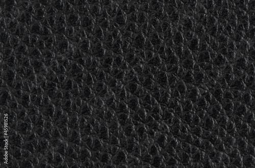 Staande foto Leder Black leather