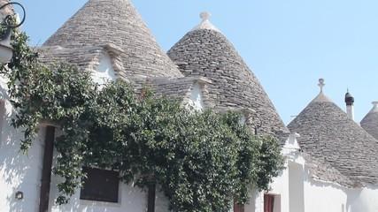 Trulli, a traditional apulian dry stone hut