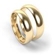 Wedding rings, engraved