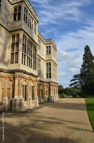 stately home from the side