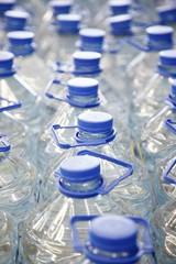 Several bottles of plain water