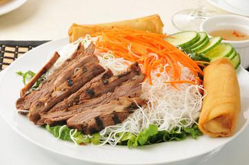 Vietnamese beef bowl
